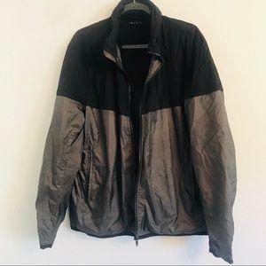 Theory Ledum Tallus Jacket Black Gray XL $425